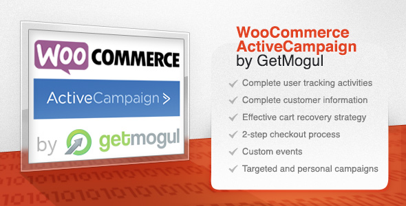 WooCommerce ActiveCampaign by GetMogul Preview